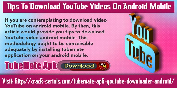 TubeMate YouTube downloader app is a well featured app and most loving app for the people who like watching online videos but want to download them on their android device.