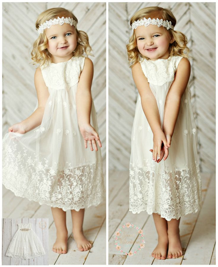 78 Best ideas about White Flower Girl Dresses on Pinterest ...