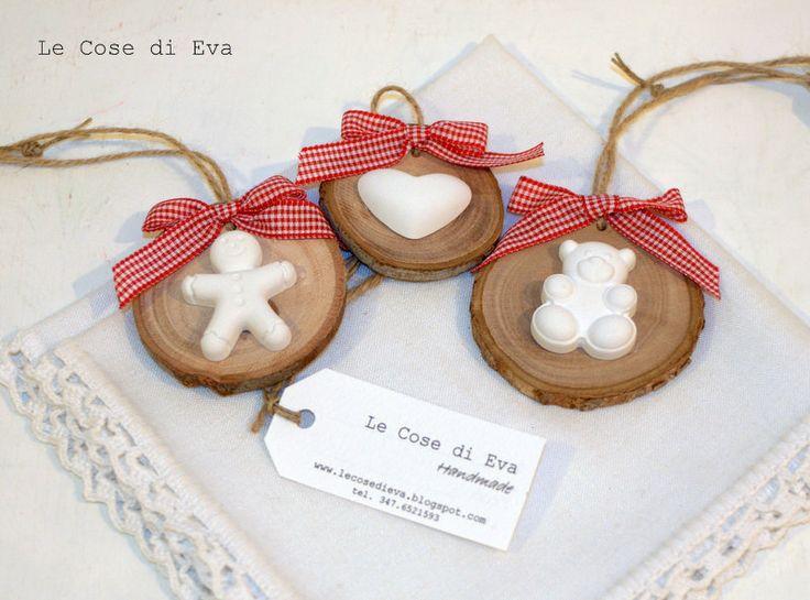 ... Le Cose di Eva: Aspettando il Natale... le decorazioni natalizie country chic