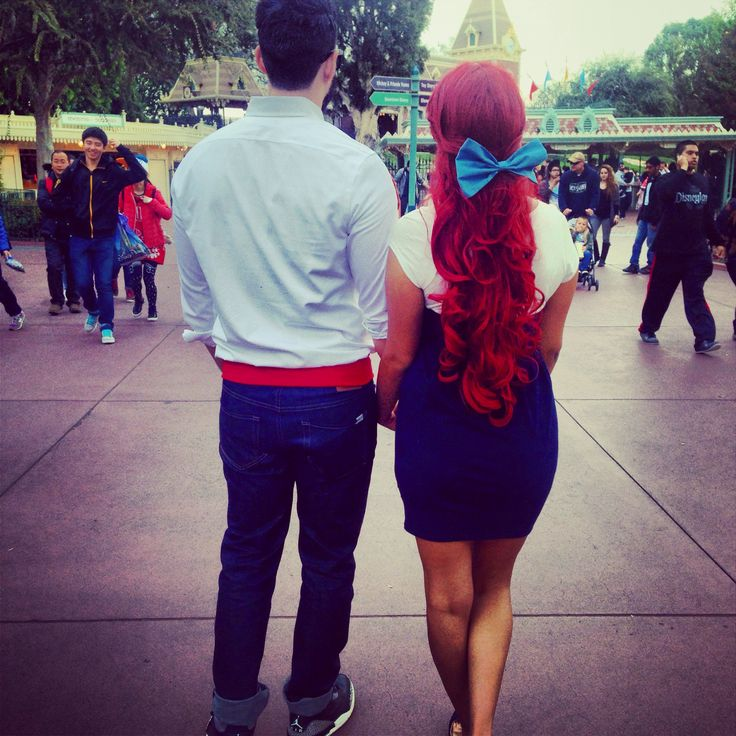Disney bounding little mermaid ariel Prince Eric #disneyland #disneylife