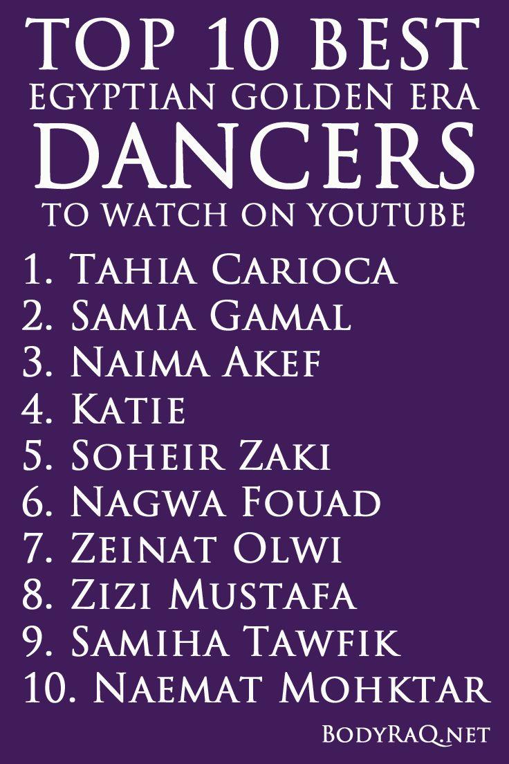 Top 10 Best Egyptian Golden Era Dancers to Watch on YouTube #bellydance