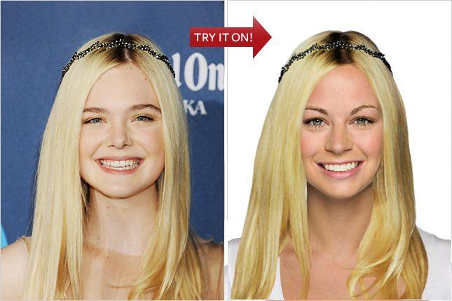 Easy virtual hair makeover