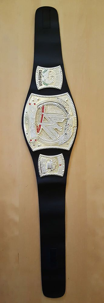 MATTEL WWE WWF Monday Raw Youth Wrestling CENA Spinner CHAMPIONSHIP Belt 2010