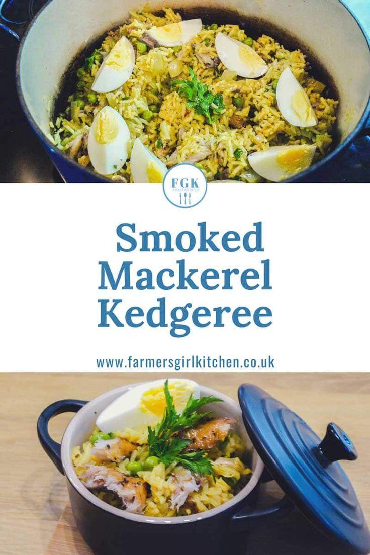 Easy Smoked Mackerel Kedgeree   Mackerel recipes, Smoked ...