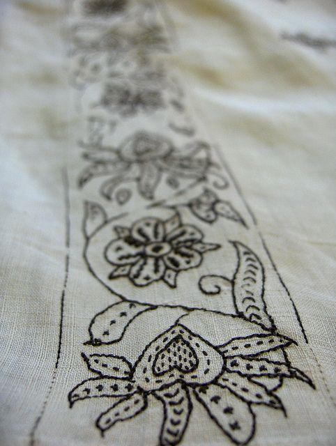 Blackworked shirt, 1580-1600