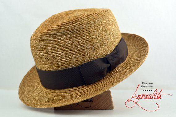 2a12461ec Milan Straw Fedora - Fine Milan Straw Handmade Summer Fedora Hat ...