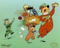 """Résultat de recherche d'images pour """"yogi l'ours dessin animé"""""""
