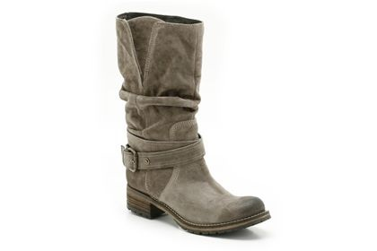 Womens Casual Boots - Majorca Villa in Grey Suede from Clarks shoes