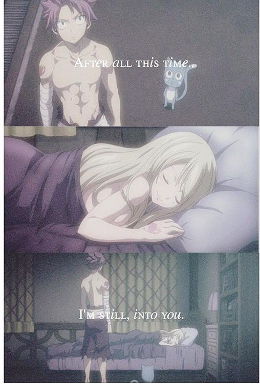 The Feeeelllsss NaLu ship (^o^)/ - Fairy Tail ~ DarksideAnime