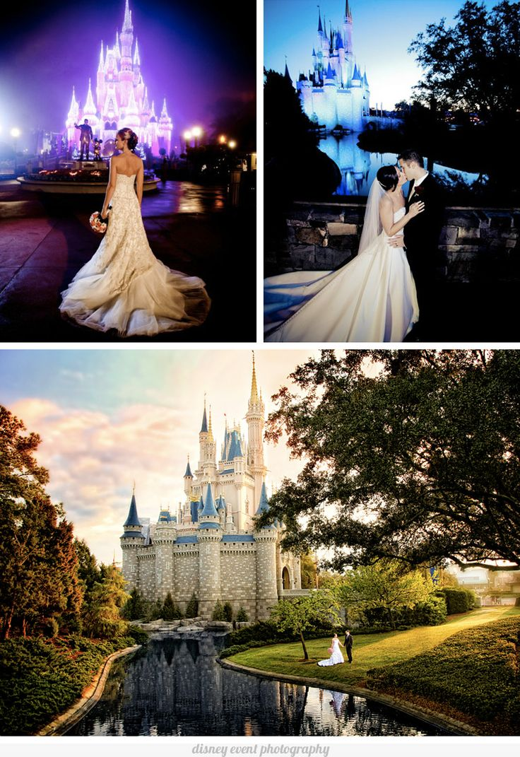 Get Married At Disney World Or Land Beautiful Photos Of A Wedding Theme