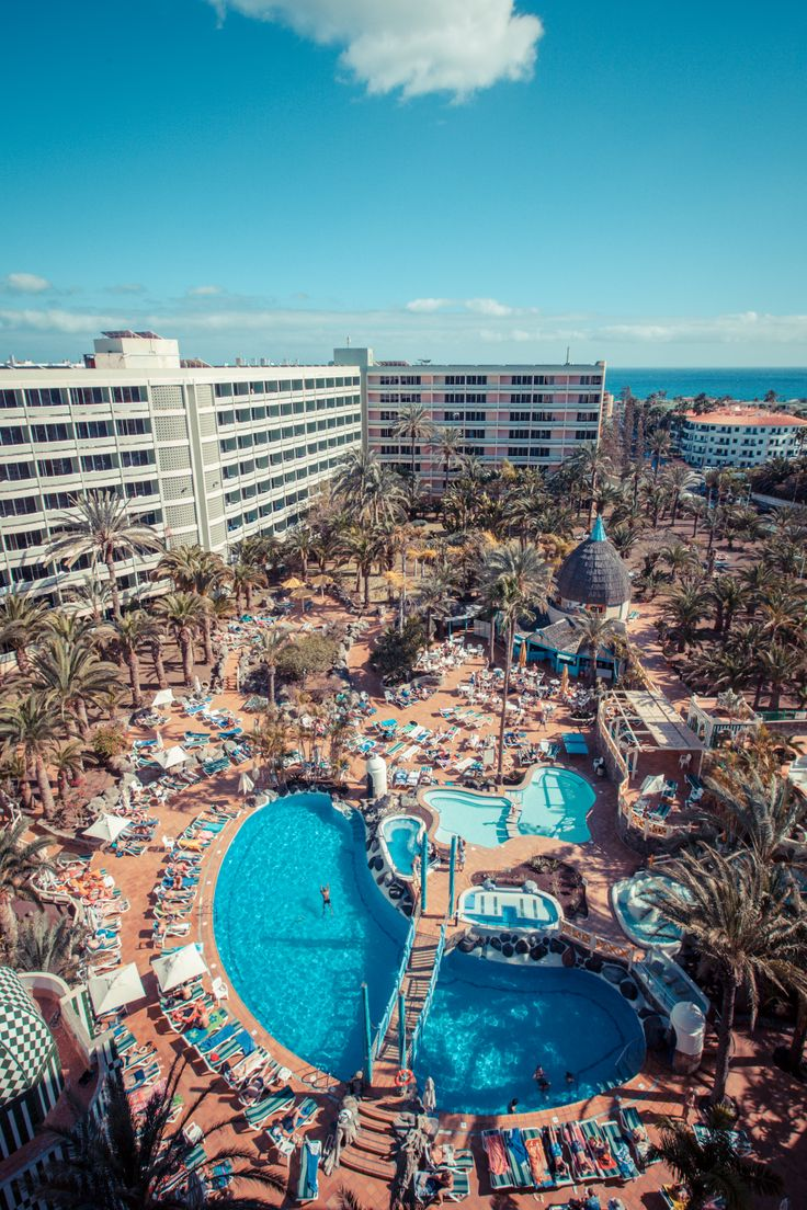 #IFABuenaventura #Hotel #Pool at #PlayaDelInglés #GranCanaria