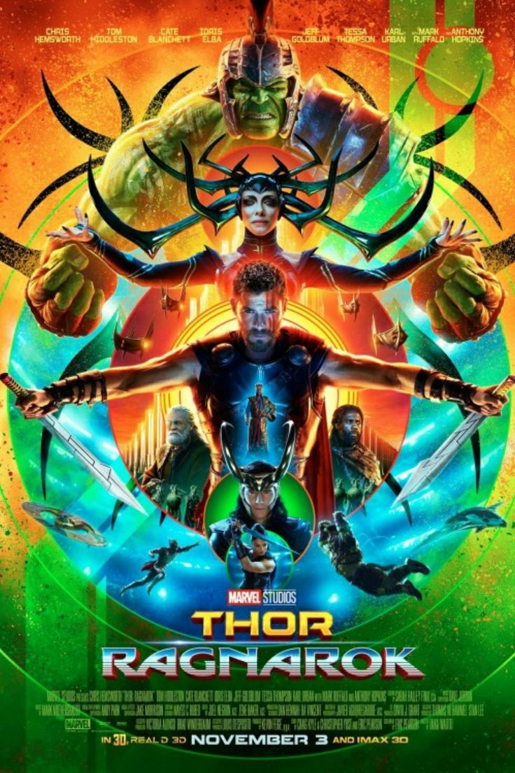 Pin by Sumeet Chachra on Movie Posters Thor ragnarok