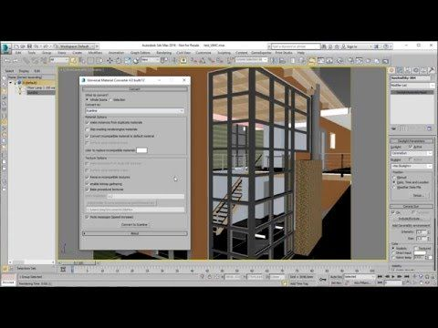 Thea for 3dsMax Material Converter. - YouTube