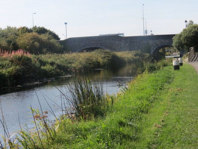 Railway and Canal bridge at Maynooth Co. Kildare