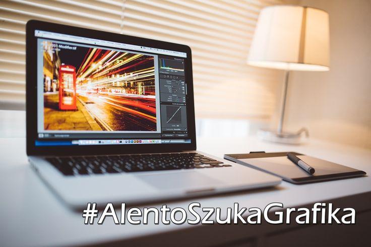 ALENTO wciąż się rozwija dlatego ruszyliśmy z poszukiwaniami niesamowitego grafika! Jeżeli to TY napisz: info@alento.pl
