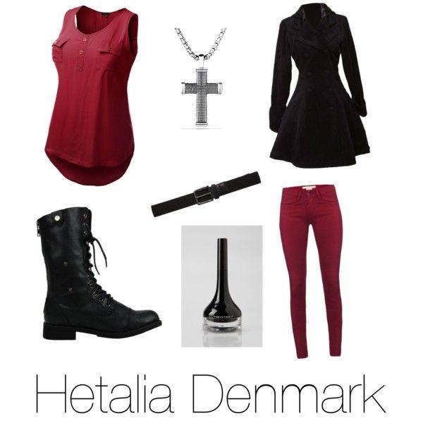 Casual Cosplay- Hetalia Denmark