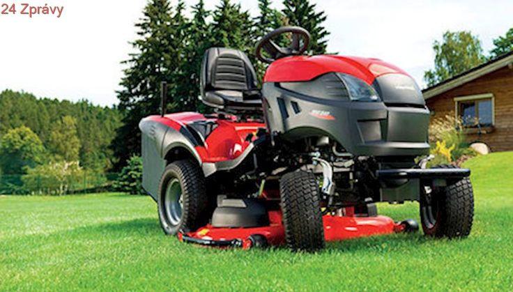 Zahradní traktor: mašina s řadou vychytávek