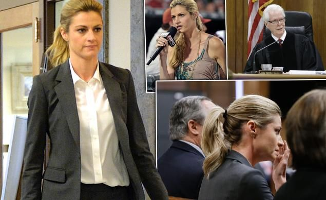 ERIN'S PAYBACK! Sportscaster Andrews awarded $55M in nude video lawsuit against hotel, stalker after emotional testimony on how footage affected her personal life. So glad she won! What a horrible, horrible thing to happen to her!