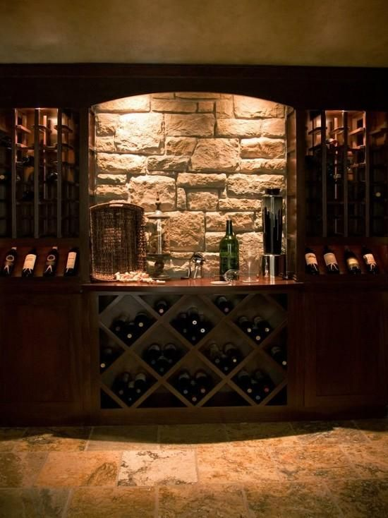 Home wine cellars design home decor wine cellar design for Wine cellar pinterest