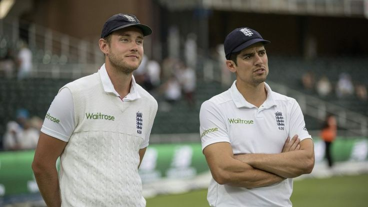 Cook and Broad awarded in Queen's Birthday Honours