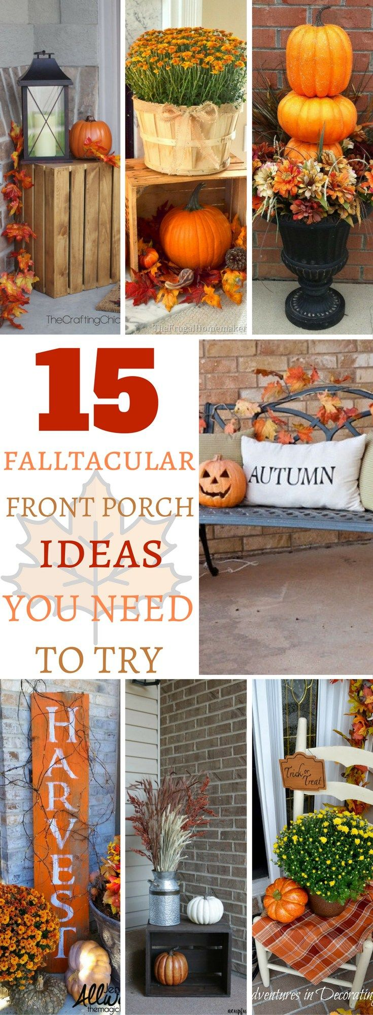 best 25+ fall porches ideas on pinterest | fall decor for porch