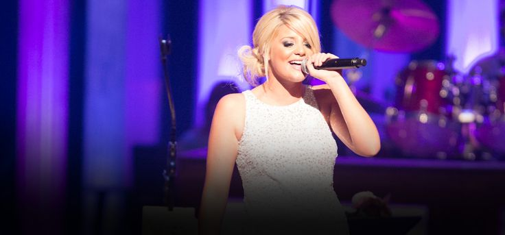 Lauren Alaina performed on the Grand Ole Orpy stage July 25, 2012