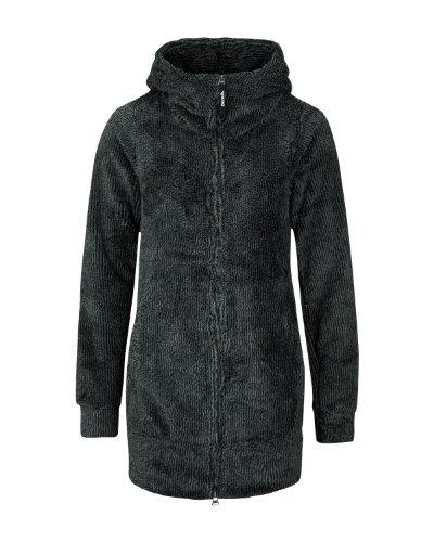 Bench Damen Plüschjacke Cuddly, black, XL, BLEA3109_BK001