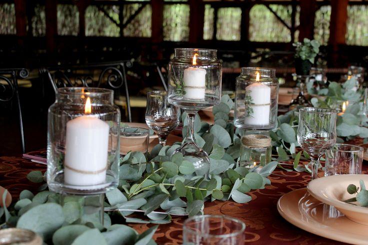 euclyptus long table