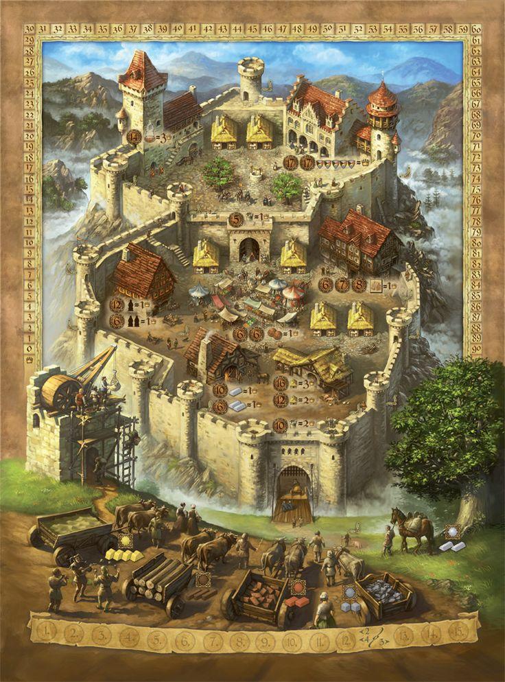A Castle for All Seasons: art by Michael Menzel