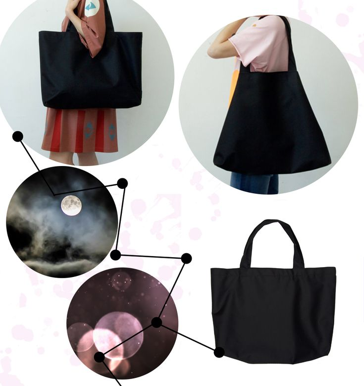 Classically styled oversized tote bag.
