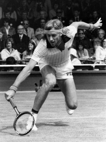 Bjorn Borg, June 1980