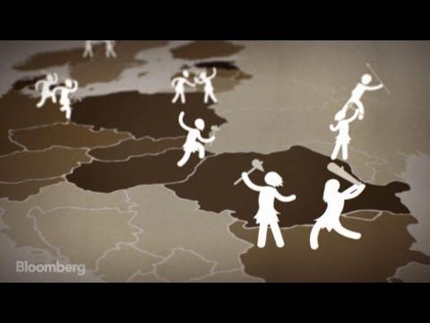The European Debt Crisis Visualized - YouTube