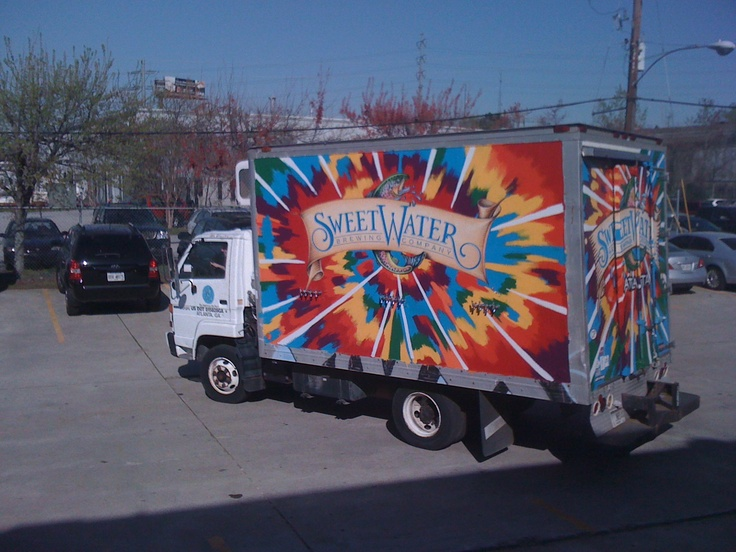 The Sweetwater truck.  One of my favorite brews.