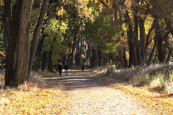 Stroll Along the Riverwalk in Canon City Colorado and Florence Colorado - Royal Gorge Region