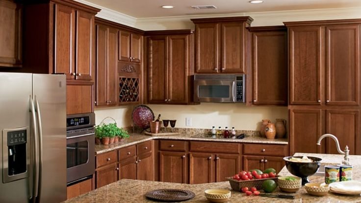 timberlake cabinets cabinet expressions from Toffee Colored ...