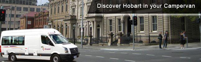 Book Campervan Rental Hobart for Adventrue Trip!