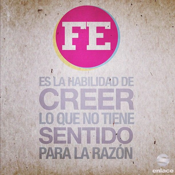 Fé. /Frases ♥ Cristianas ♥