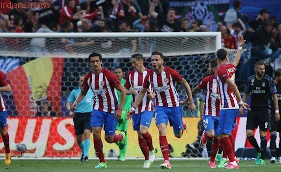 Real Madrid 0-2 Atletico Madrid live football score, Champions League semi-final: Atletico score two early goals