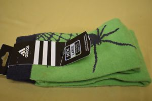 a mens adidas mls seattle sounders fc spider design socks nwt size l