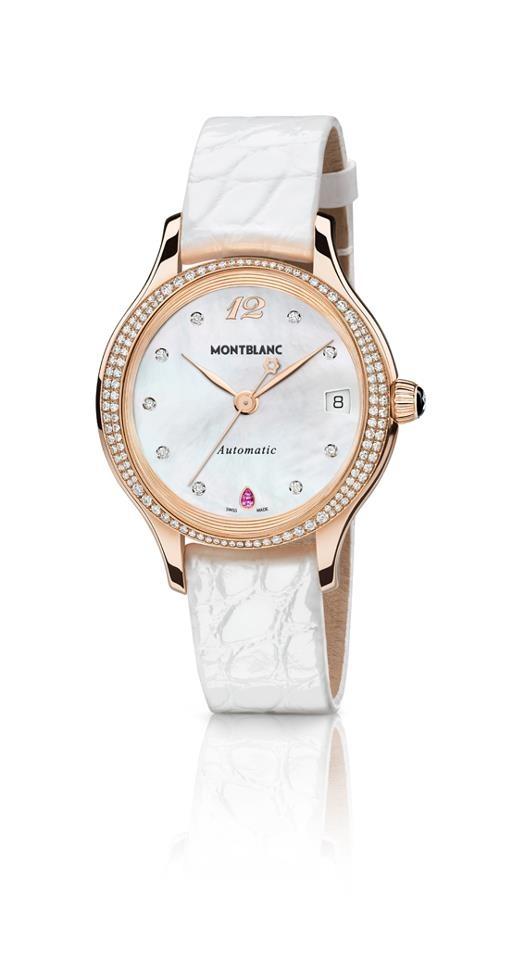 La colección Princesse Grace de Monaco de Montblanc está compuesta de relojes con encanto femenino y elegante. Elaborados a mano, los relojes incorporan en su diseño las piedras más finas y el característico diamante Montblanc.