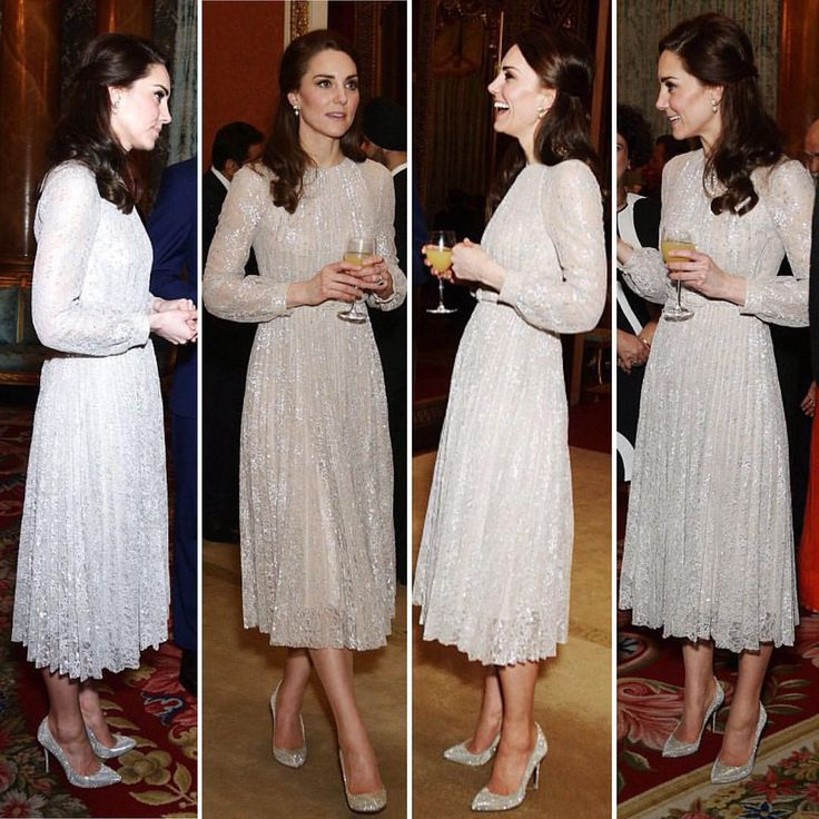 She sure is sparkly! Kate stuns in a glittering dress and VERY sparkly heels during a reception at BP celebrating Britain's ties with India 02.27.17 pics via @dailymailUK via ✨ @padgram ✨(http://dl.padgram.com)
