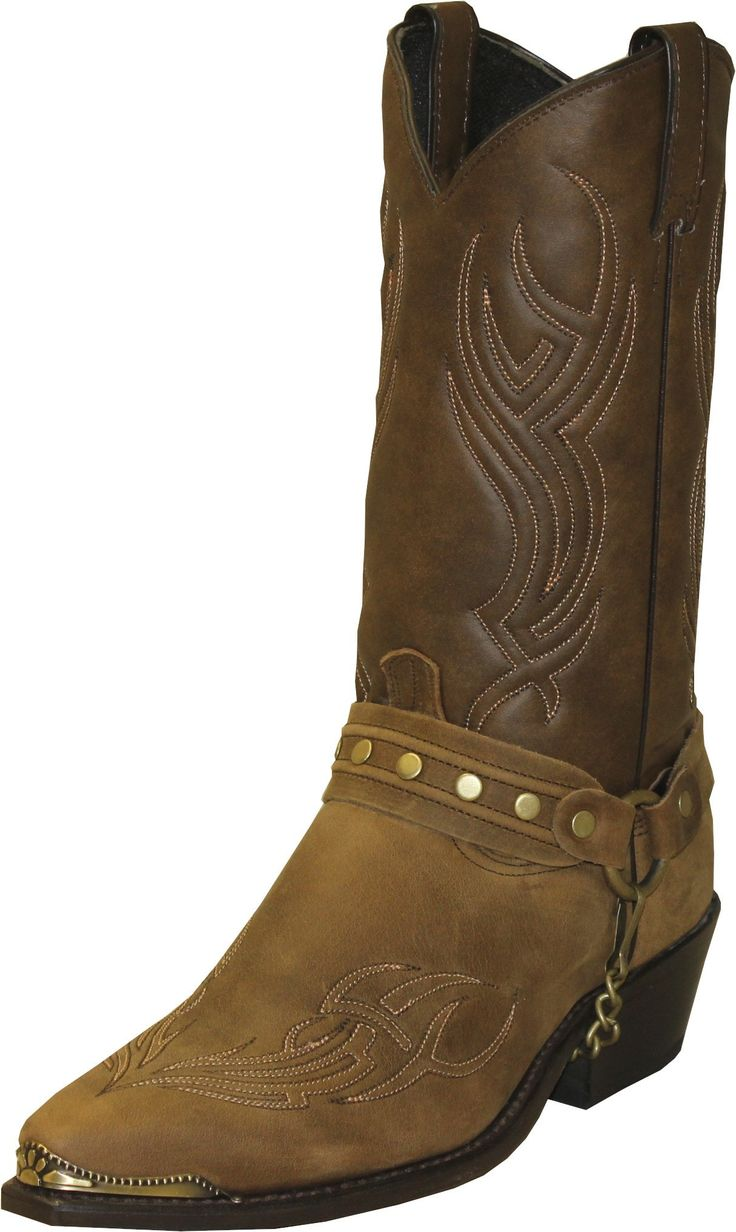 Sage Boots offers fashion forward sensibility paired with American bootmaking value. These mens cowhide cowboy boots feature a 1 1/2in western heel, snip toe, a