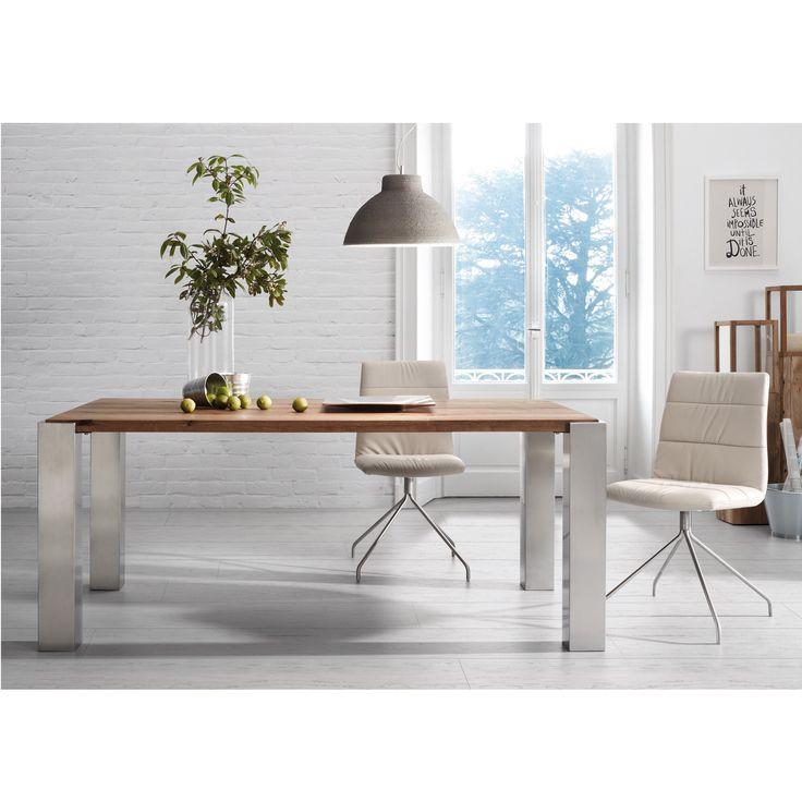 Spisebord ULRIC.   www.mirame.no #spisebord #spisestue #bord #kjøkken #kjøkkenbord #interior #interiør #nordiskdesign #vår #norsk #nettbutikk #design #hus #hjem #innredning #massiv #eik