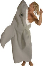 Adult Shark Attack Outfit Funny Mens Halloween Costume  #eBay #Halloween