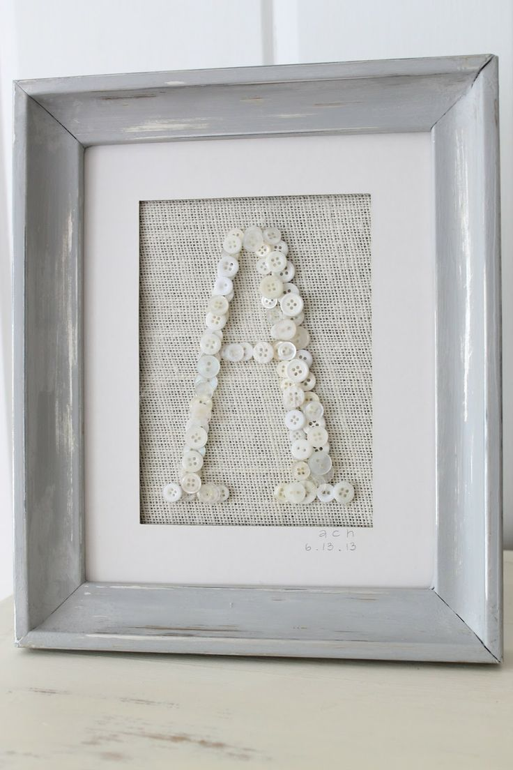 Framed Button initial