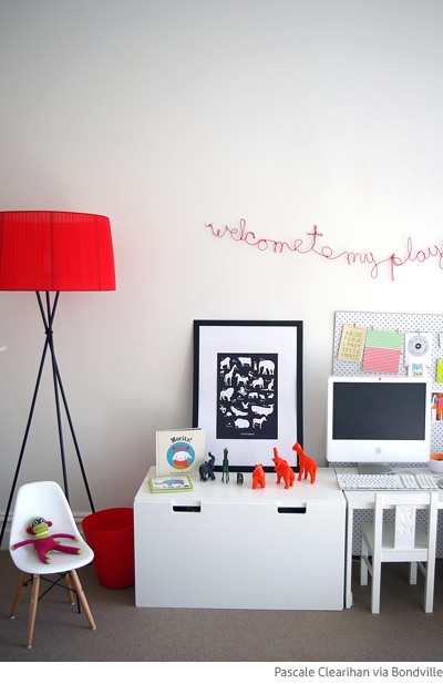 Bondville: Real Kids Room: Spoonful of Colour playroom and shared girls bedroom.. and giveaway!