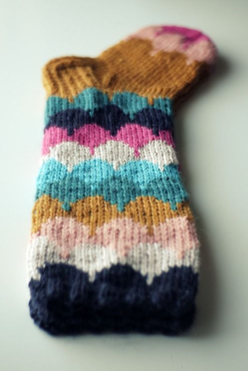 muita ihania socks. She has a great eye for color!