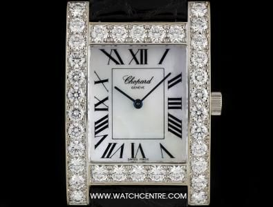#Chopard 18k White Gold Mother of Pearl Dial #Diamond Bezel #H #Watch 173450