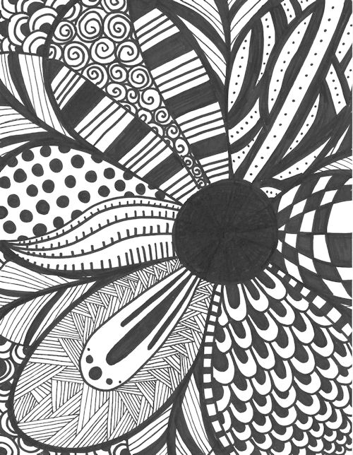 square zentangles | Design » Zentangles