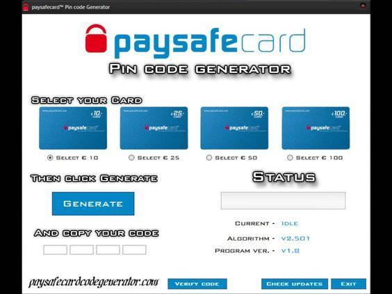 Codes paysafe fake Free Paysafecard